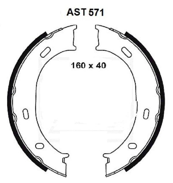 Купить тормозные колодки AST571 в компании AutoStandart